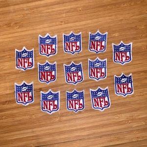"NFL Football Crest Logo Patch 1.5"" x 1"" - LOT 13"